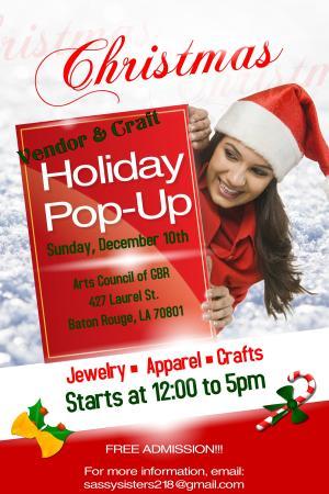 Craft Holiday Pop-Up