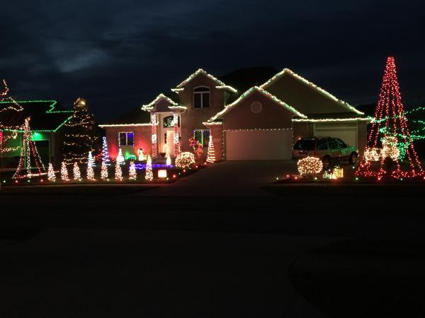 Best Christmas Lights Displays- Bufflehead Run