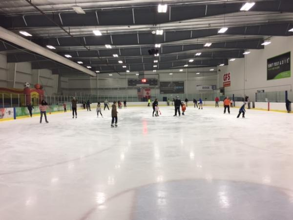Icehouse during public skate