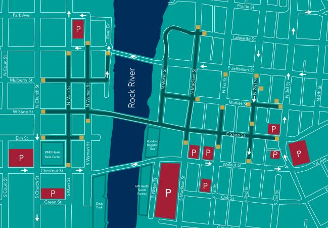 Stroll on State parking map