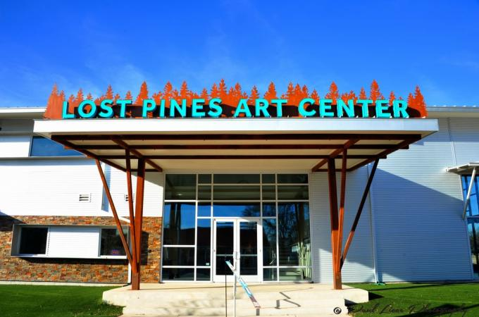Lost Pines Art Center Bldg Pic