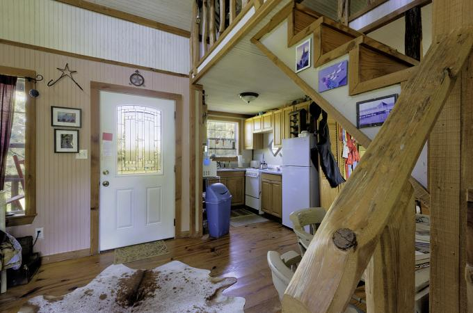 Michelle's Cabin Entry