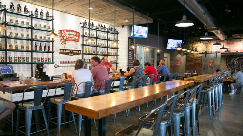 Lansing Brewing Company March Madness