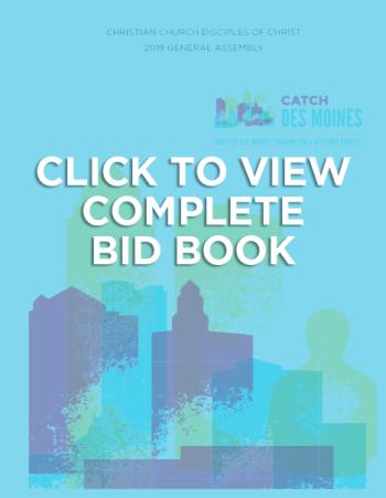 Bid Book Cover