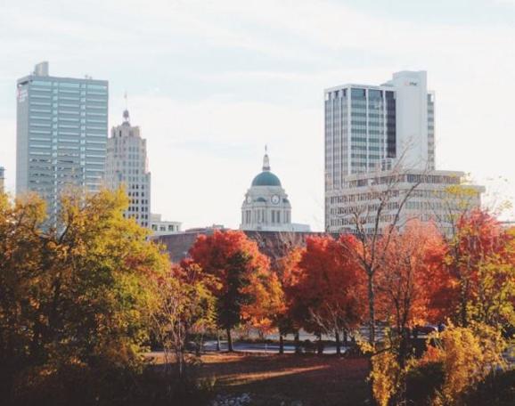 Molilie Instagram Photo - Fort Wayne, IN Skyline