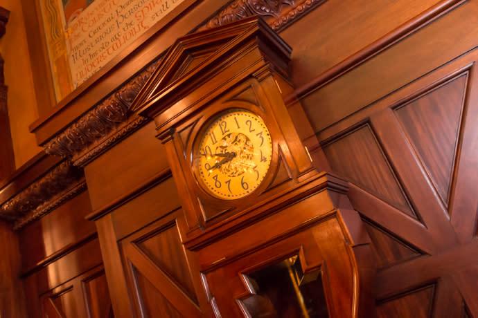 Supreme Court Clock PA State Capitol