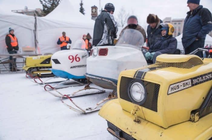 The Fairbanks Tired Iron - Fairbanks, Alaska - Snowmachining