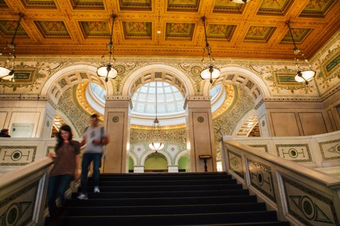 Chicago Cultural Center Staircase