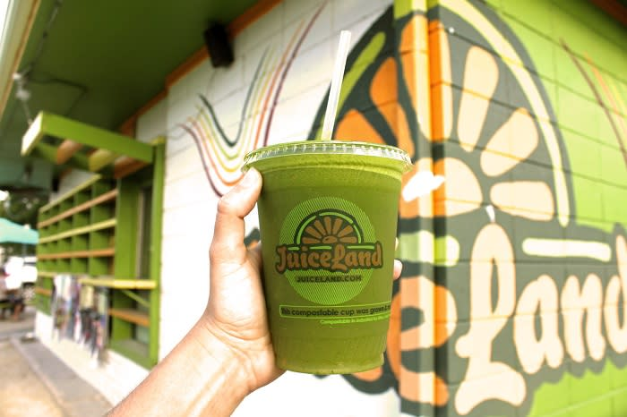 Juiceland green juice