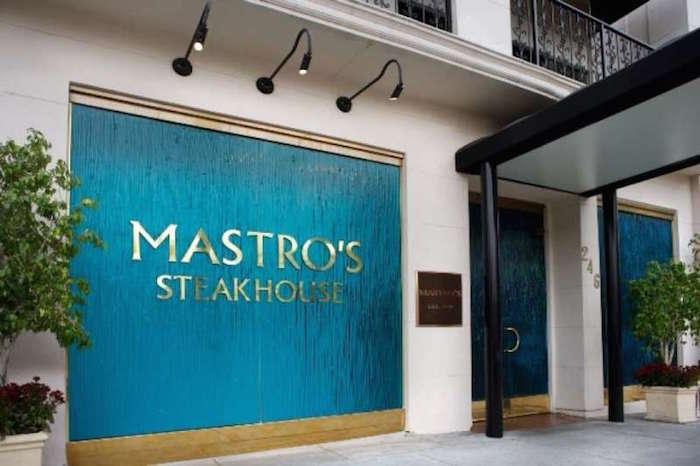 Mastro's Steakhouse Houston