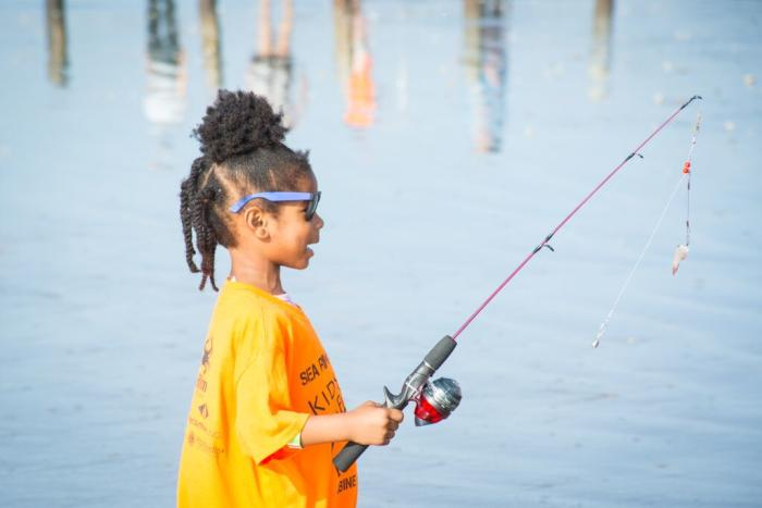 Sea Rim State Park Fishing