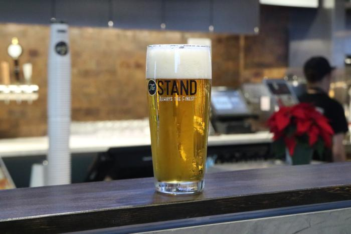 The Stand in Irvine beer