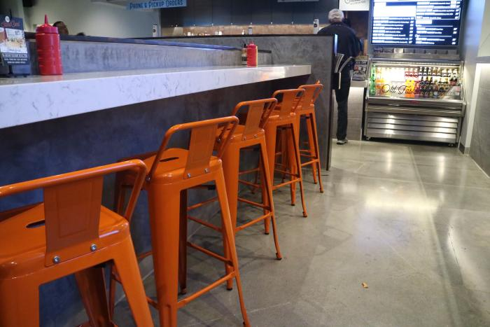 Bar at the Stand in Irvine
