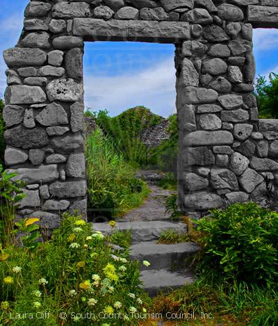 Rock doorway