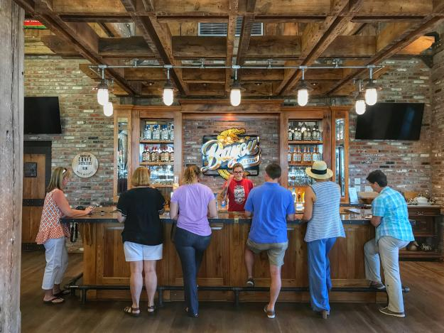 Bayou Rum tour and tasting