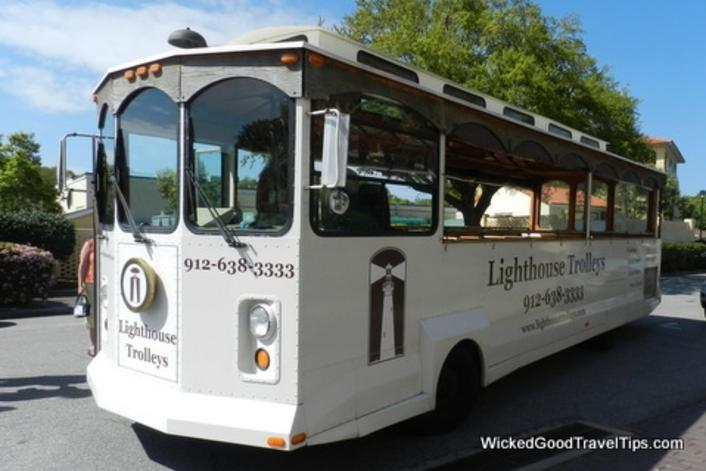 Lighthouse Trolley Tours of St Simons Island