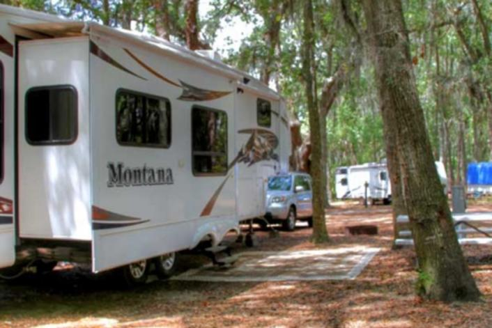 Camping in the Golden Isles