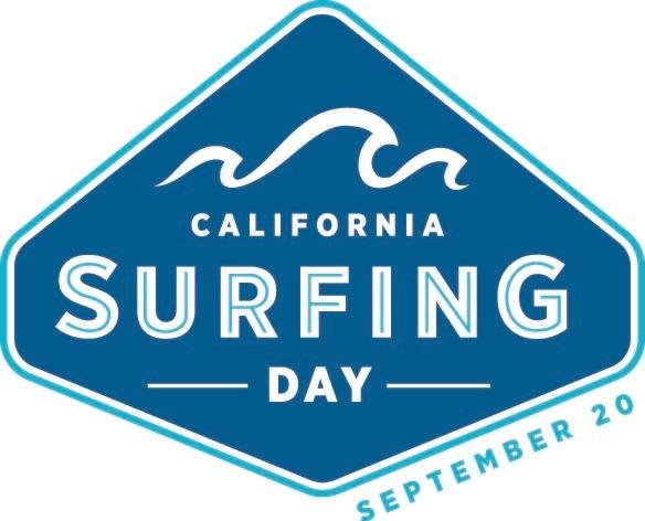CA Surfing Day Icon
