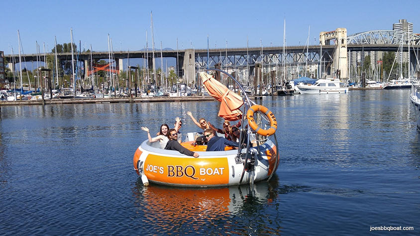 Joe's BBQ Boat