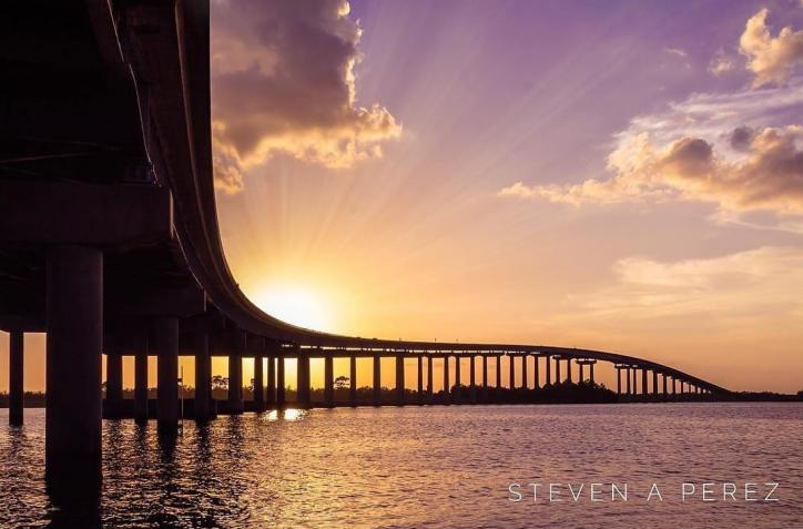 210 Bridge Sunset: Photo of the Month by Steven Perez