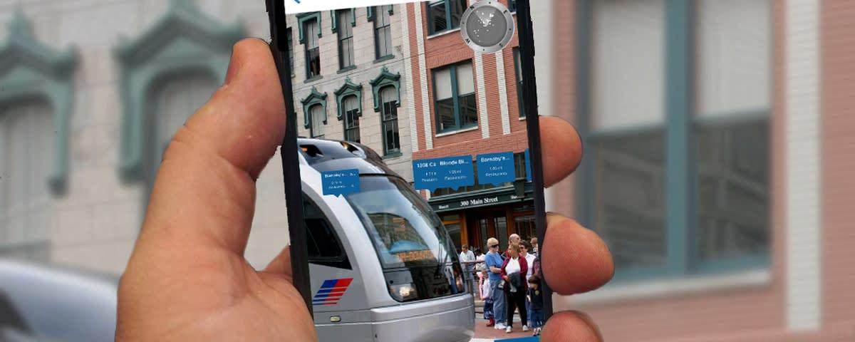 Visit Houston AR Browser App