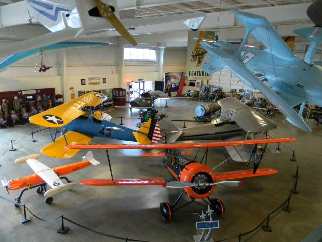 Aircraft at the Aerospace Museum of California