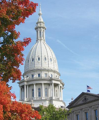 Fall Capitol Dome