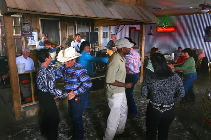 Dancing to a Cajun Beat