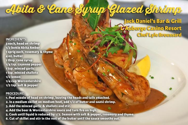 Abita And Cane Syrup Shrimp Recipe