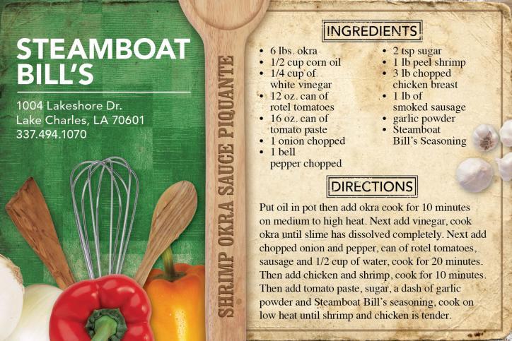 Steamboat Bill's Shrimp Okra Sauce Piquante Recipe