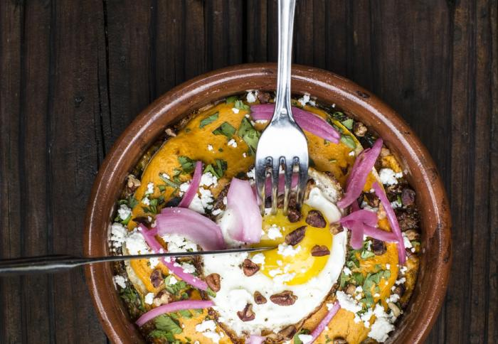 Brunch Dish from Benjy's on Washington in Houston