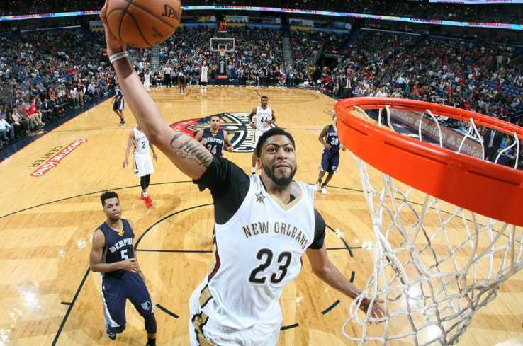 New Orleans Pelicans - Anthony Davis