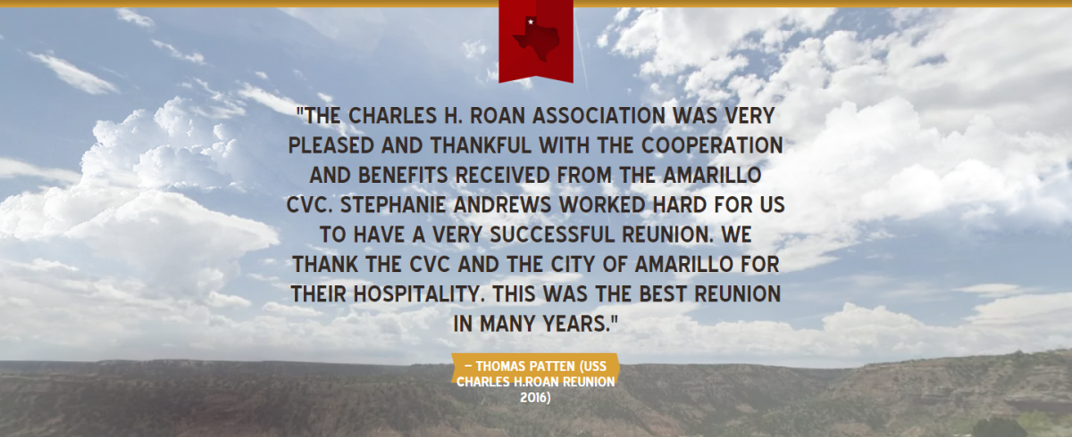 Testimonial by Thomas Patten about the USS Charles H. Roan Reunion