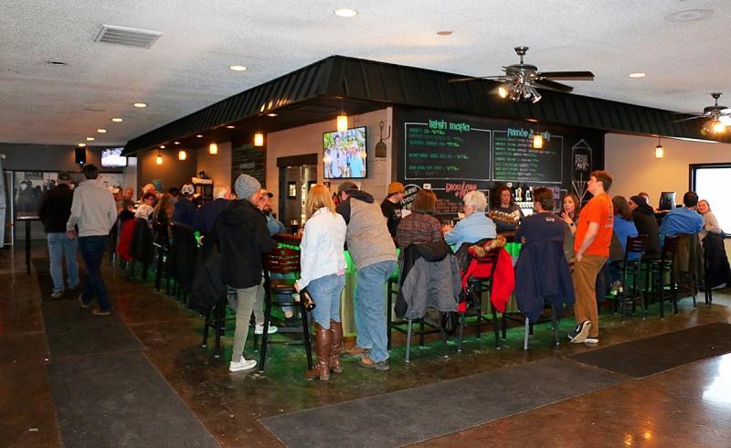Irish Mafia Brewing Company bar