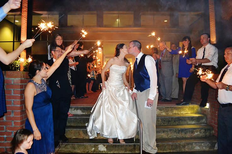 Clayton Center Wedding