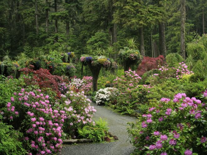 Alaskan Botanical Gardens!