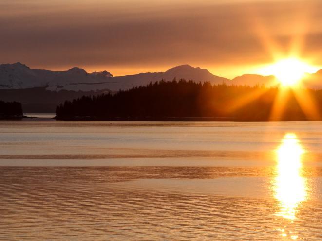 Auke Bay sunset