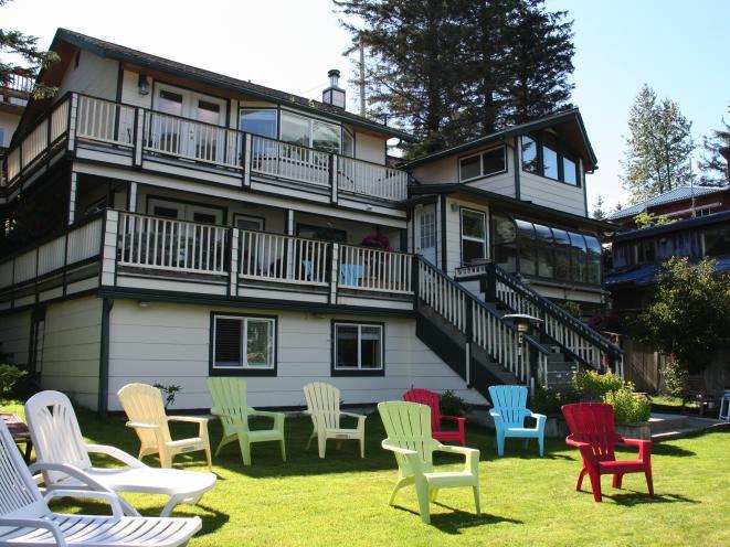 Beachside Villa Exterior