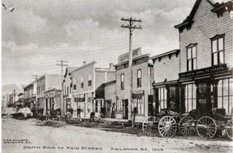 Bernard Avenue, 1909