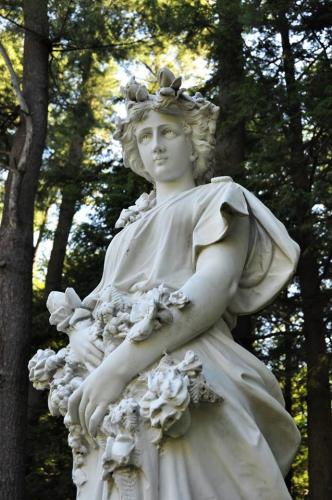 One of the statues at Yaddo Gardens