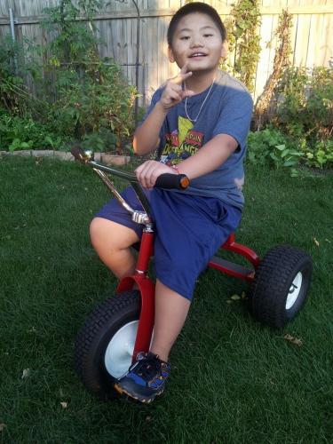 Cyrus' Trike