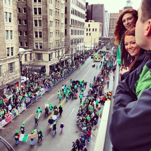 St. Patrick's Day Pardea