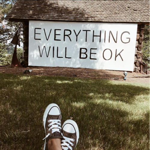 Converse Everything Will Be OK