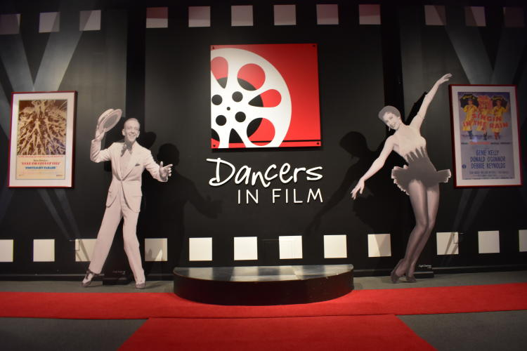 Dancers in Film Exhibit Dance Museum