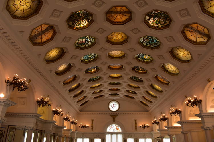 Canfield Casino Ceiling