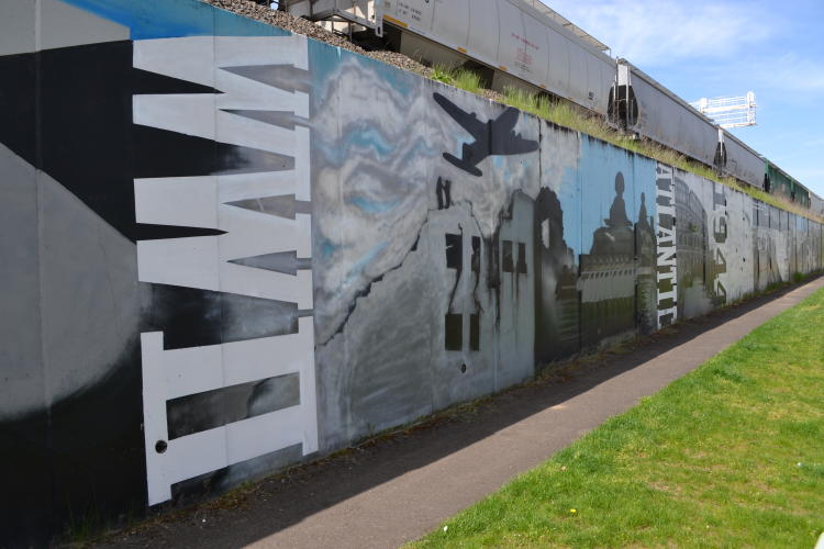 Remembrance Wall Mural