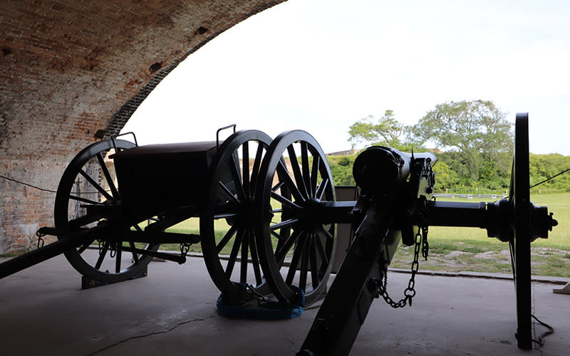 Experience Ft Pickens Cannon