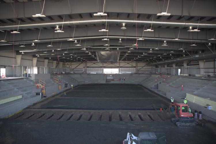 Orange County Great Park Ice Facility indoor