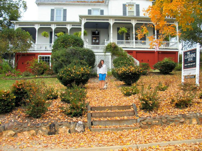 Claiborne House B&B Fall