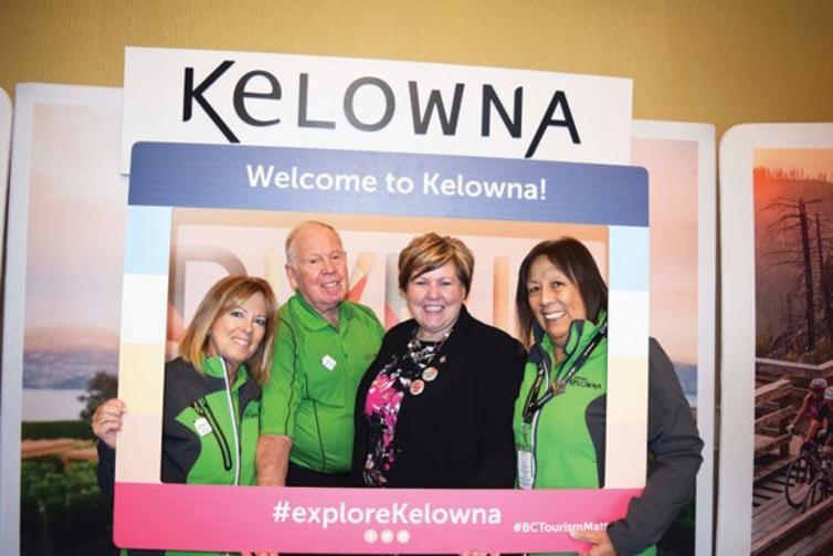 BCTIC 2018 Tourism Kelowna Booth